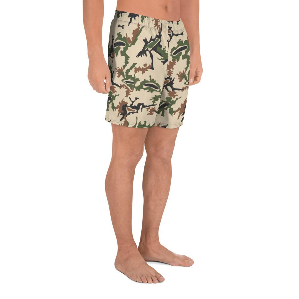 Egyptian Scrambled Eggs Men's Athletic Long Shorts