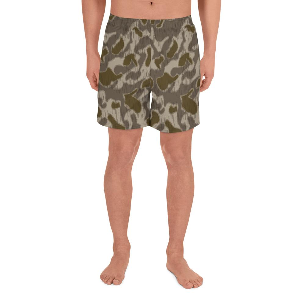 Austrian Steintarn Late pattern Camouflage Men's Athletic Long Shorts