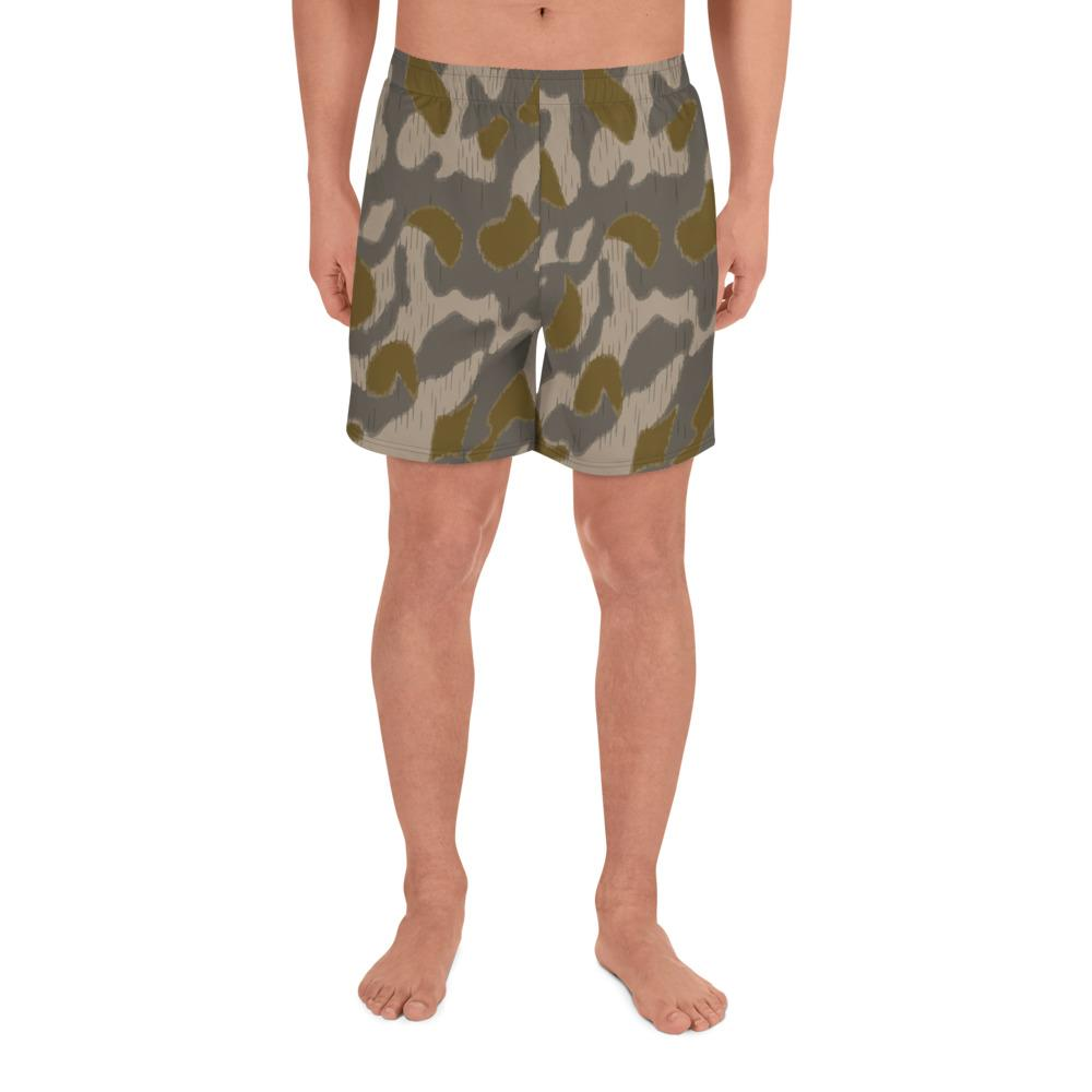 Austrian Steintarn Early pattern Camouflage Men's Athletic Long Shorts