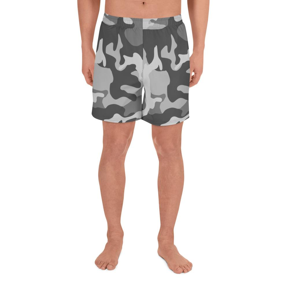 ERDL Urban Camouflage Men's Athletic Long Shorts