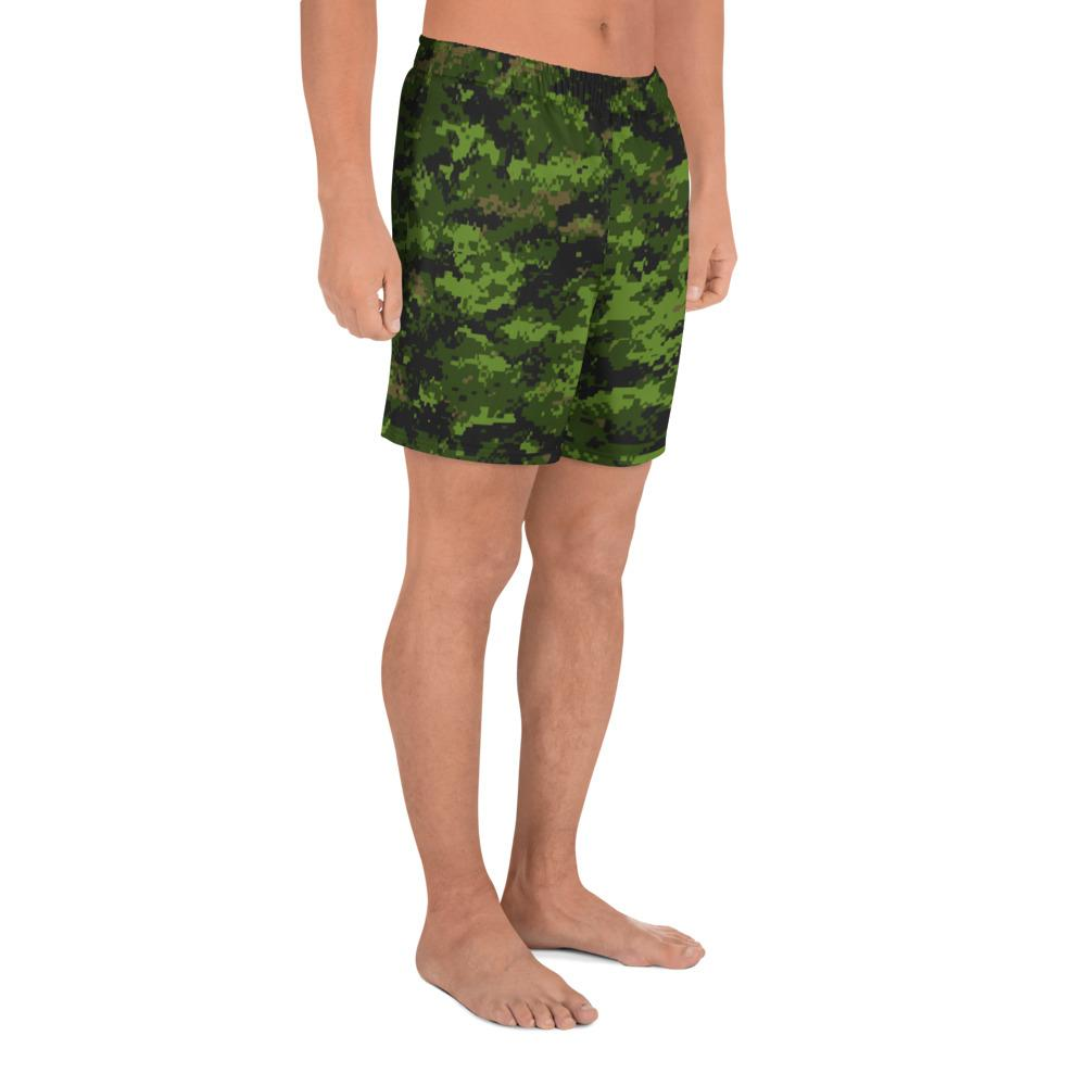 Canadian CADPAT camouflage  Men's Athletic Long Shorts