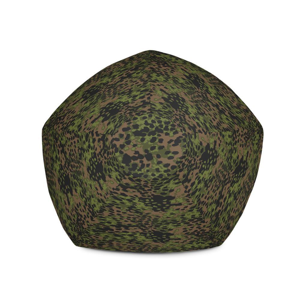 Miraculous Wwii Germany Platanenmuster Spring Camouflage Bean Bag Chair W Filling Creativecarmelina Interior Chair Design Creativecarmelinacom