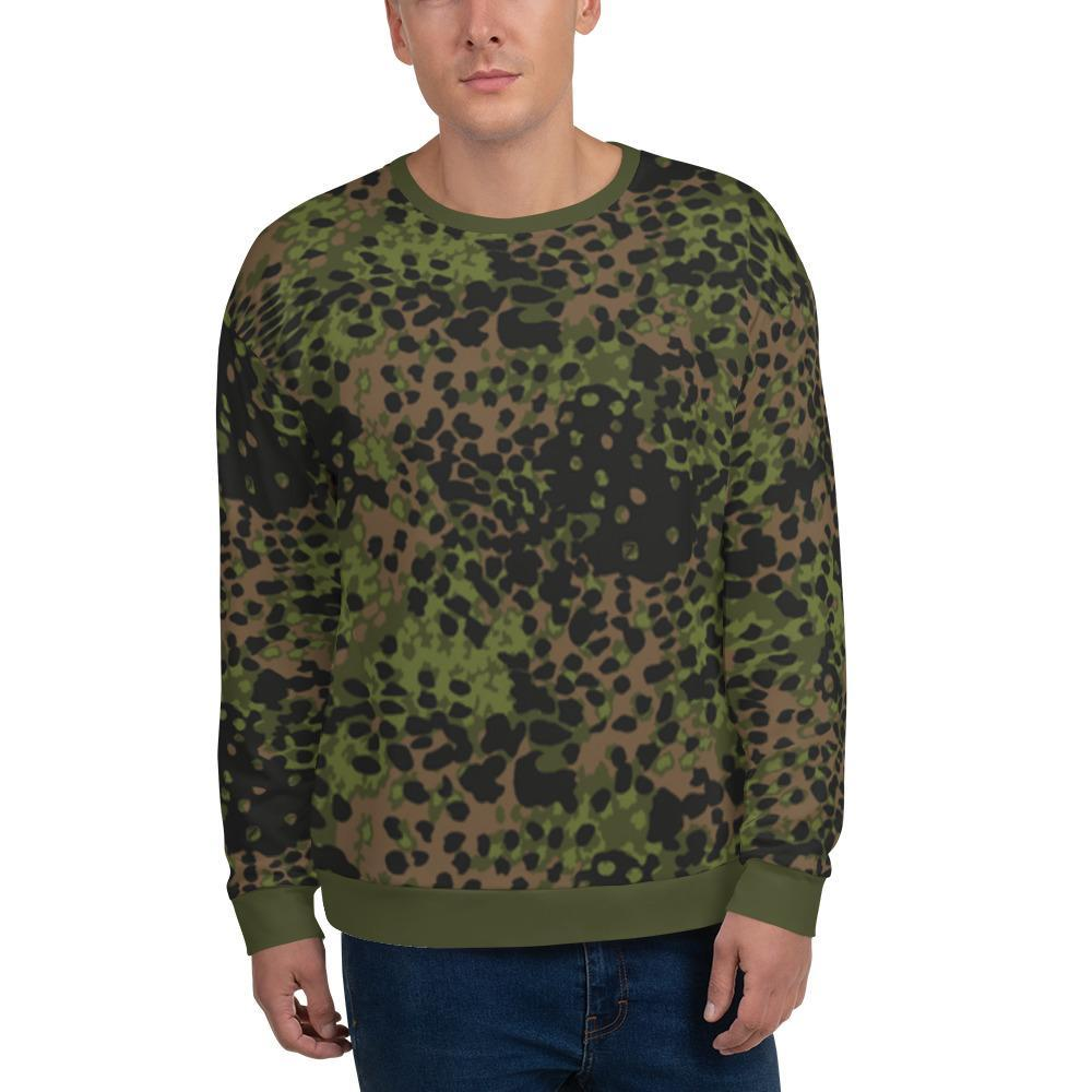 WWII Germany Platanenmuster spring Camouflage Unisex Sweatshirt