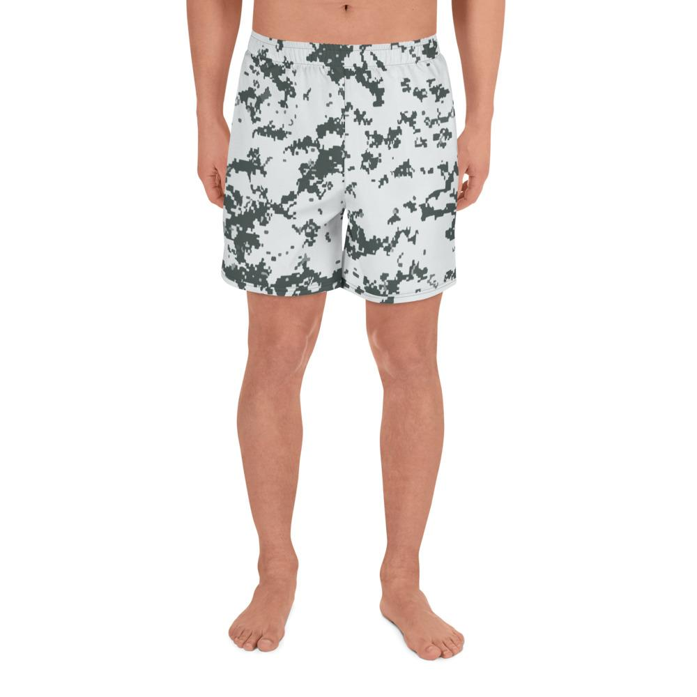 Canadian CADPAT Arctic camouflage Men's Athletic Long Shorts