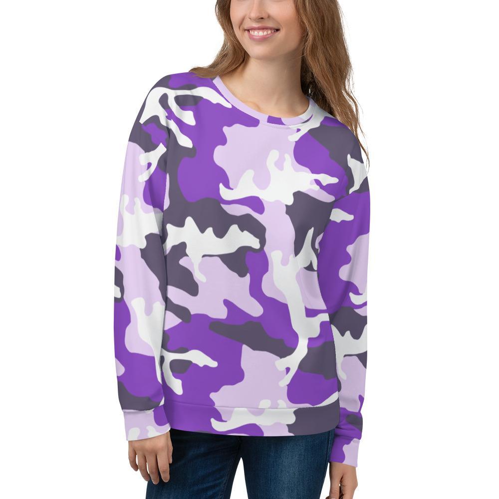 ERDL Ultraviolet Camouflage Unisex Sweatshirt