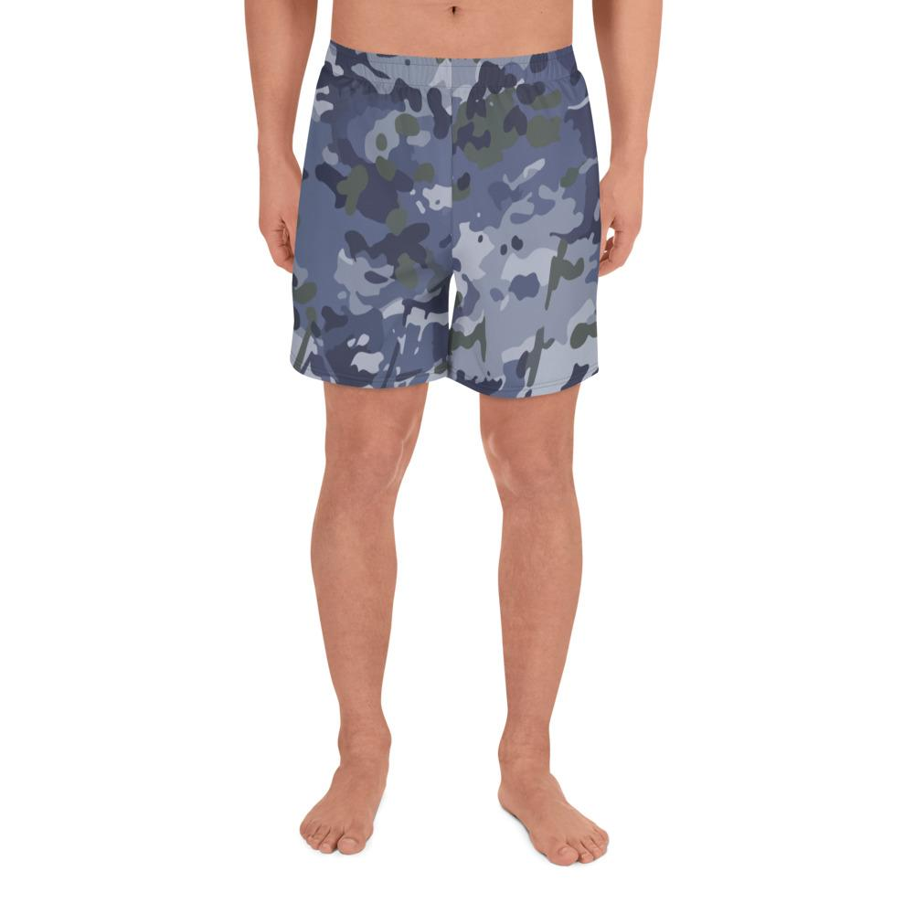 Australian RAAF GPU Camouflage Men's Athletic Long Shorts