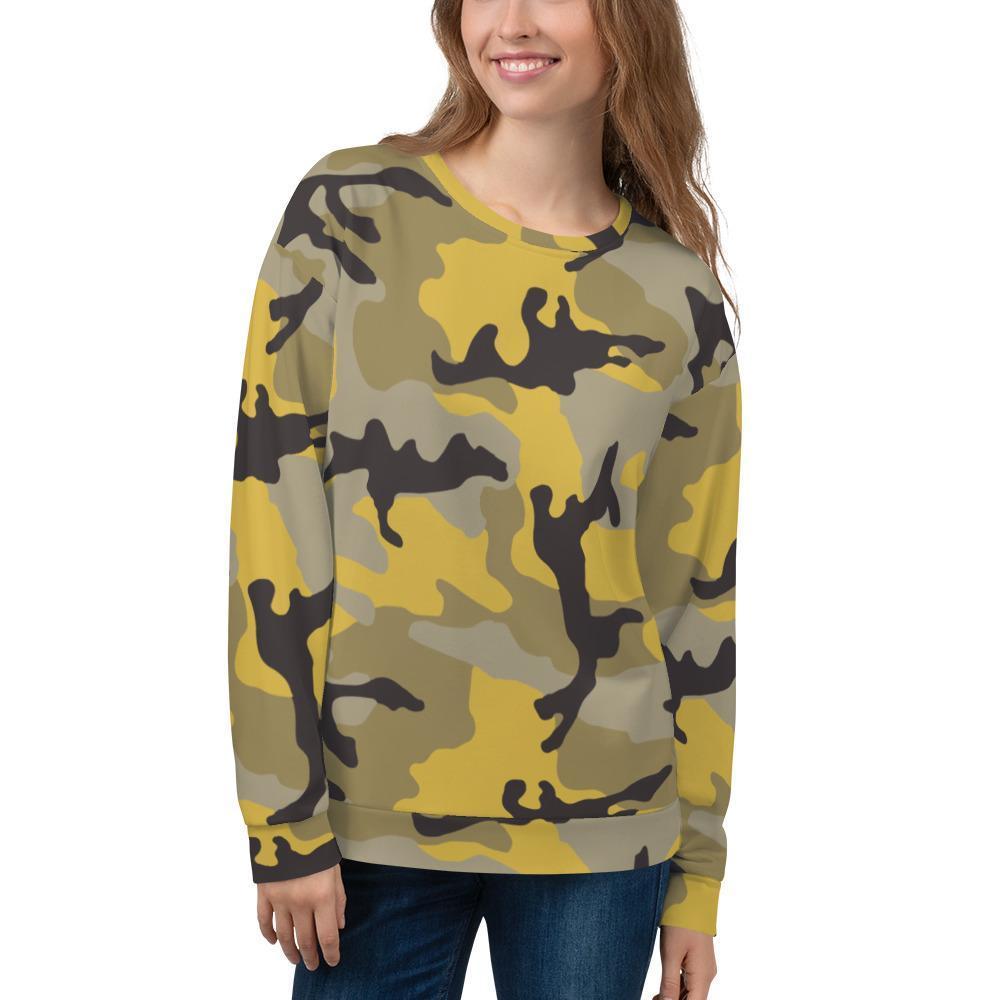 ERDL Yellow Stinger Camouflage Unisex Sweatshirt