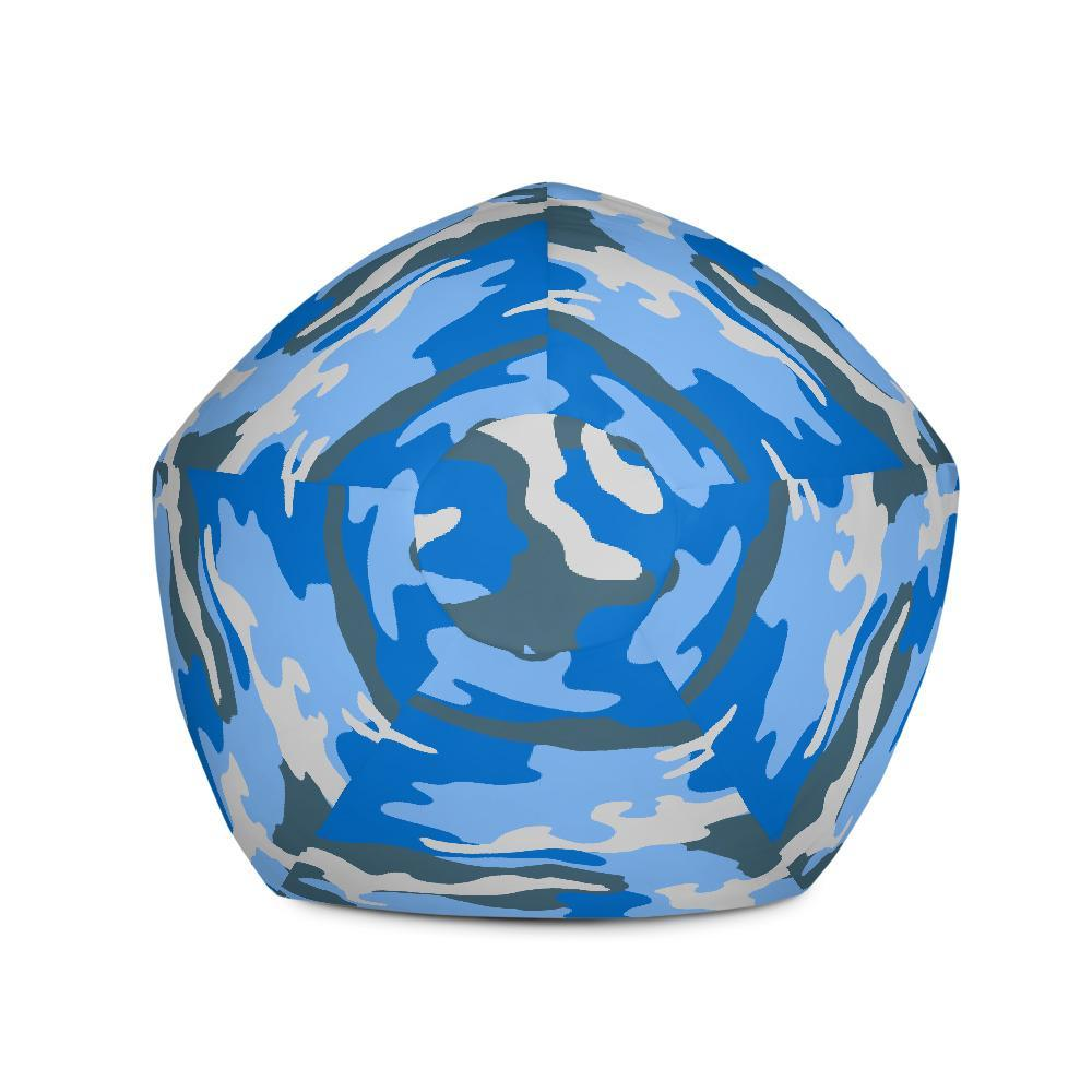 ERDL Blue Sky Camouflage Bean Bag Chair Cover