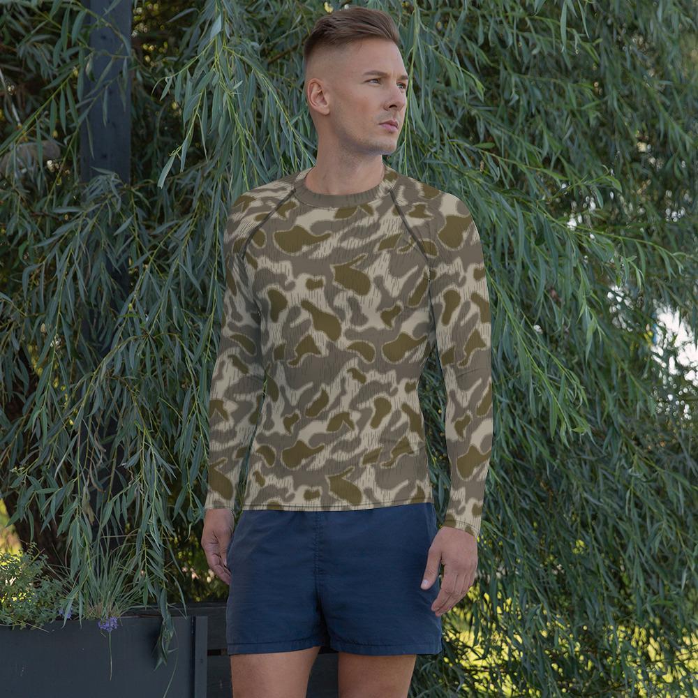 Austrian Steintarn Late Pattern Camouflage Men's Rash Guard