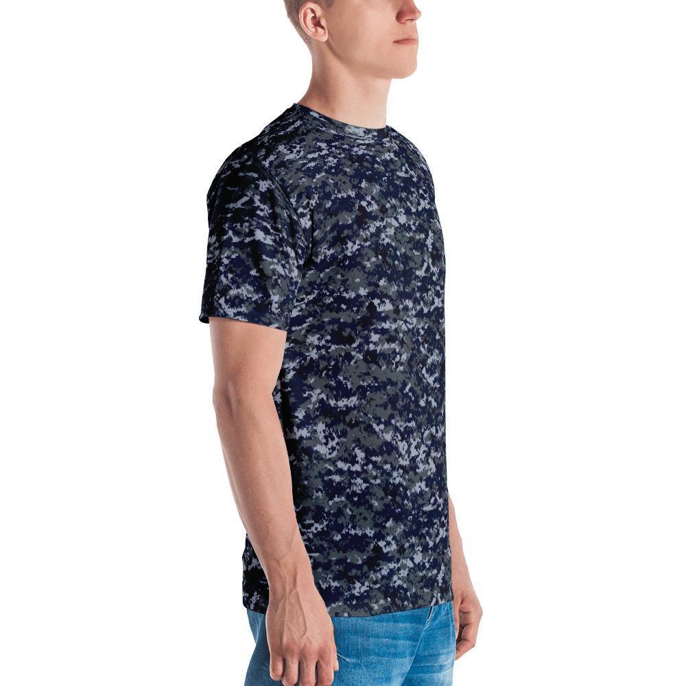 US NAVY MWUPAT Camouflage Crew Neck T-Shirt