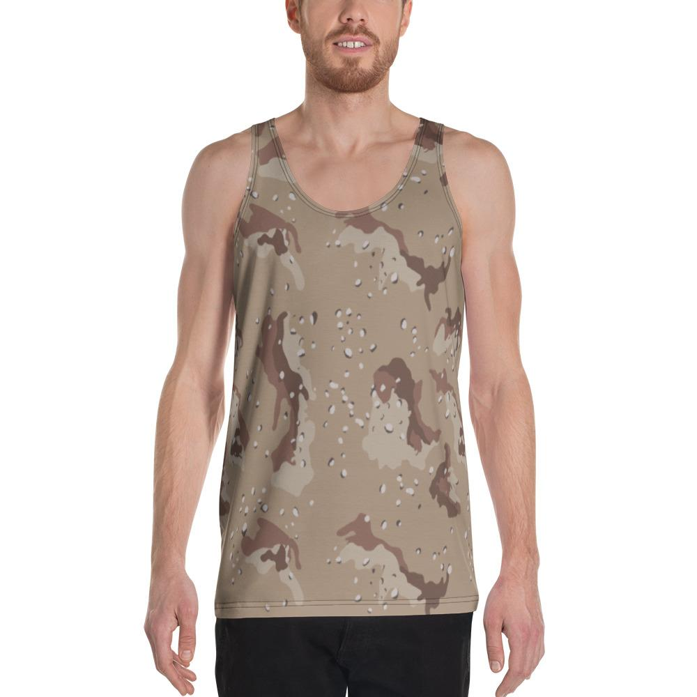 US Desert Shield / Strike Chocolate Chip Camouflage Men's Tank Top