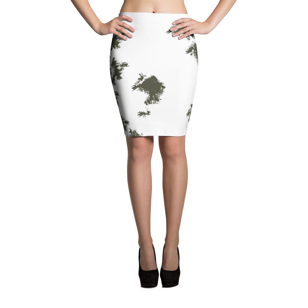 German Schneetarn Pencil Skirt