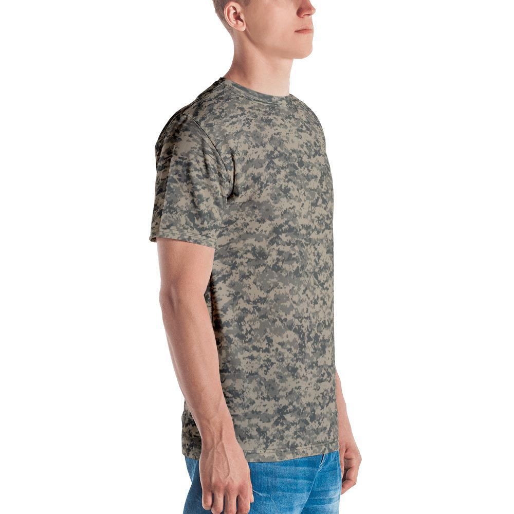 UCP Camouflage Men's Crew Neck T-Shirt