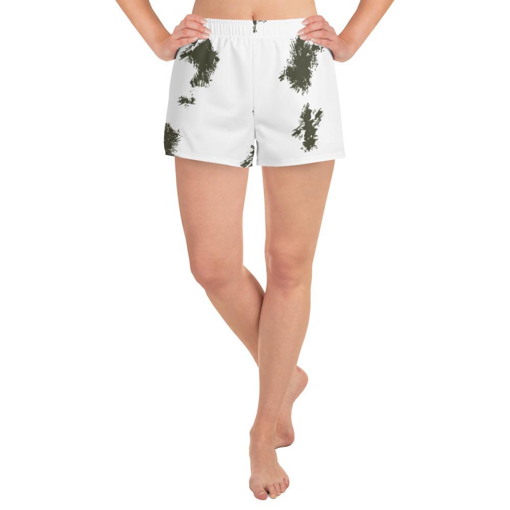 German Schneetarn Women's Athletic Short Shorts