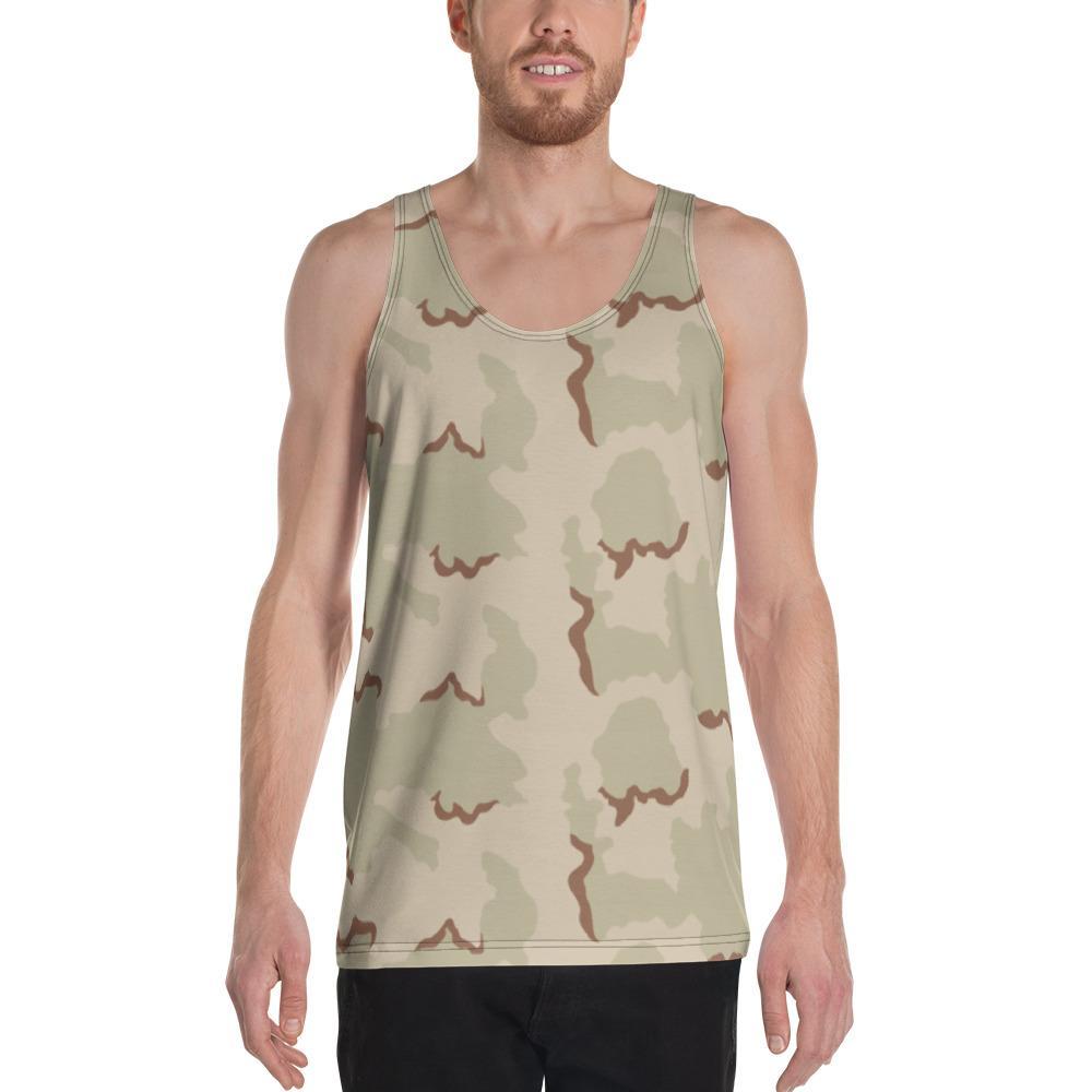 US Desert 3 colors Camouflage Men's Tank Top