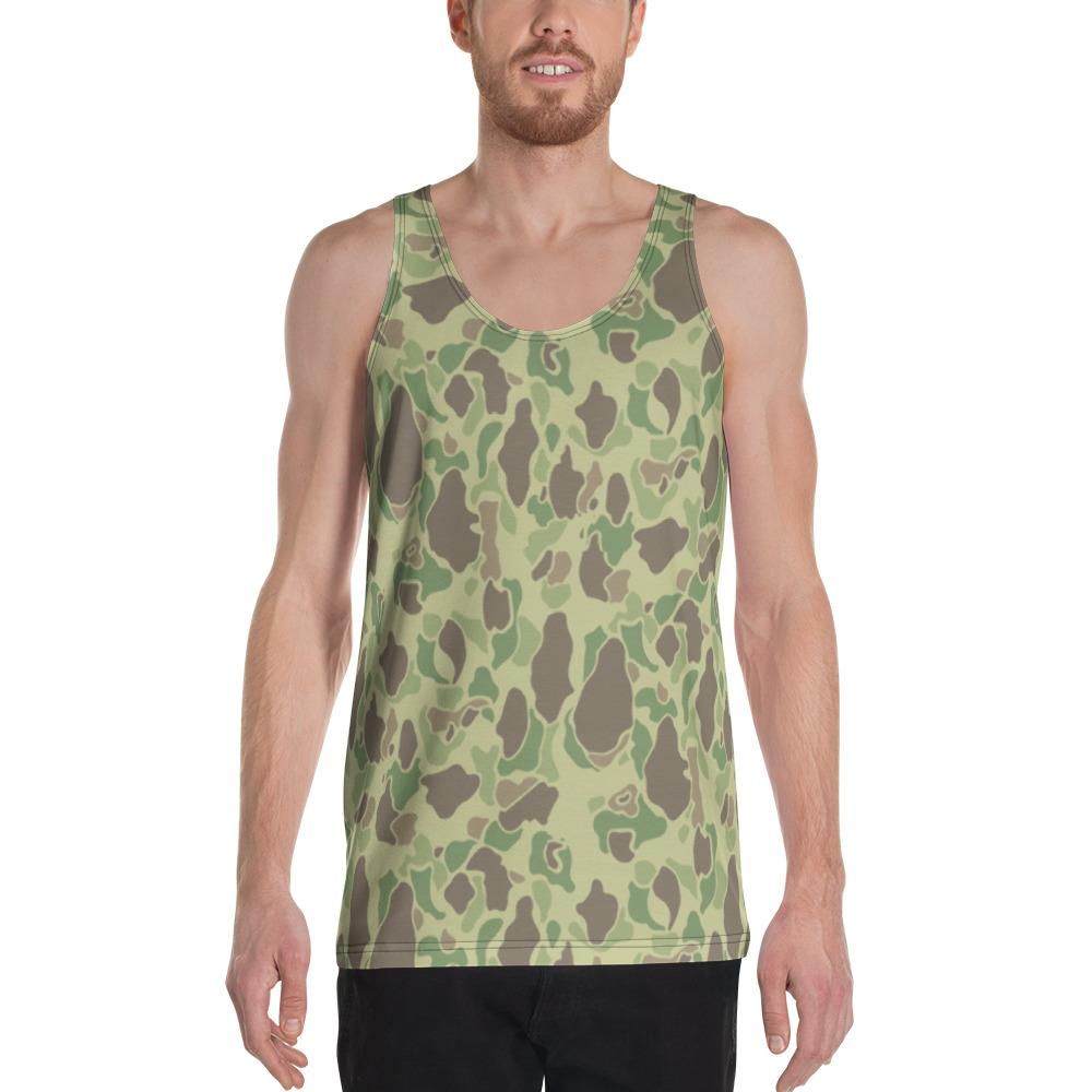 WWII US Duck Hunter Summer Camouflage Men's Tank Top