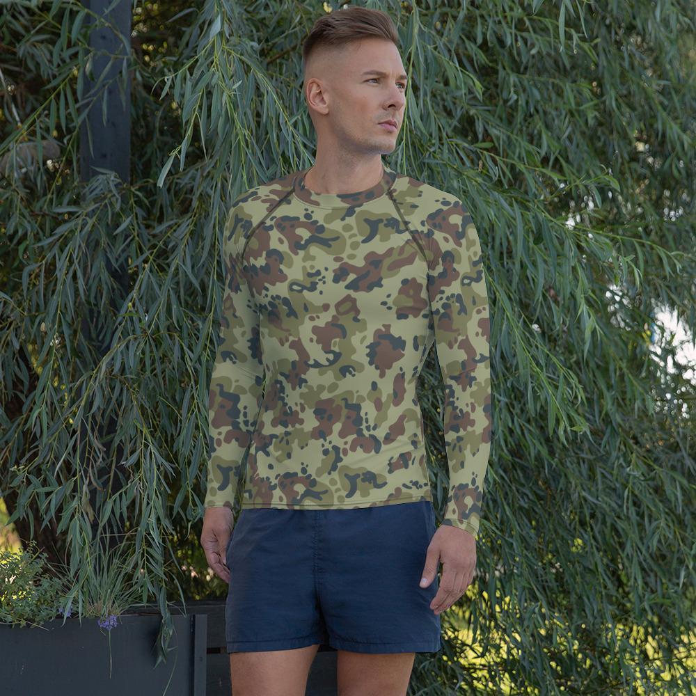 Romanian M93 Autumn Camouflage Men's Rash Guard