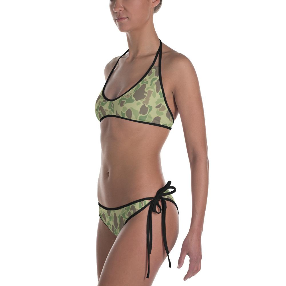 US WWII Duck Hunter autumn / summer Reversible Camouflage Bikini