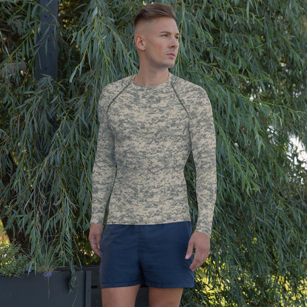 US UCP Camouflage Men's Rash Guard
