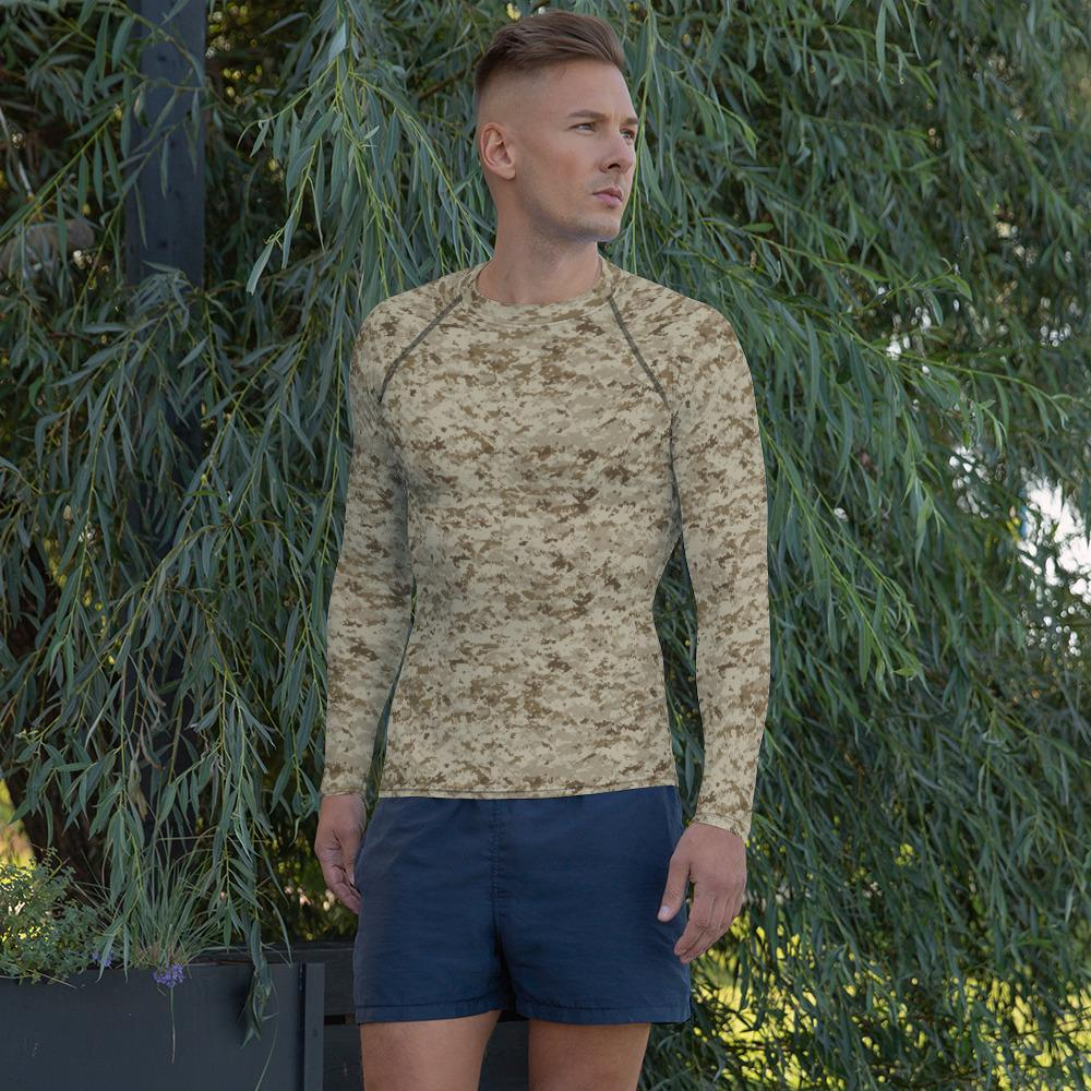 US AOR 1 Camouflage Men's Rash Guard