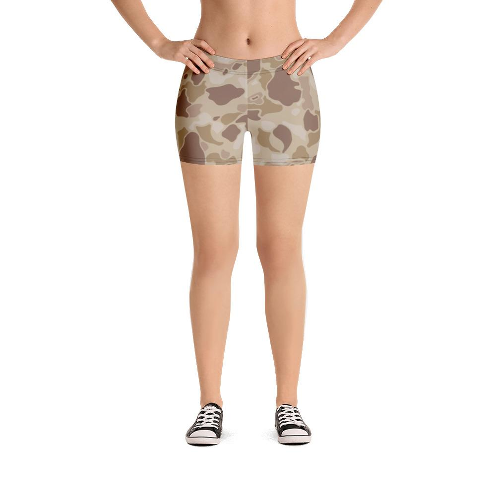 US WWII Duck Hunter Autumn Camouflage Shorts
