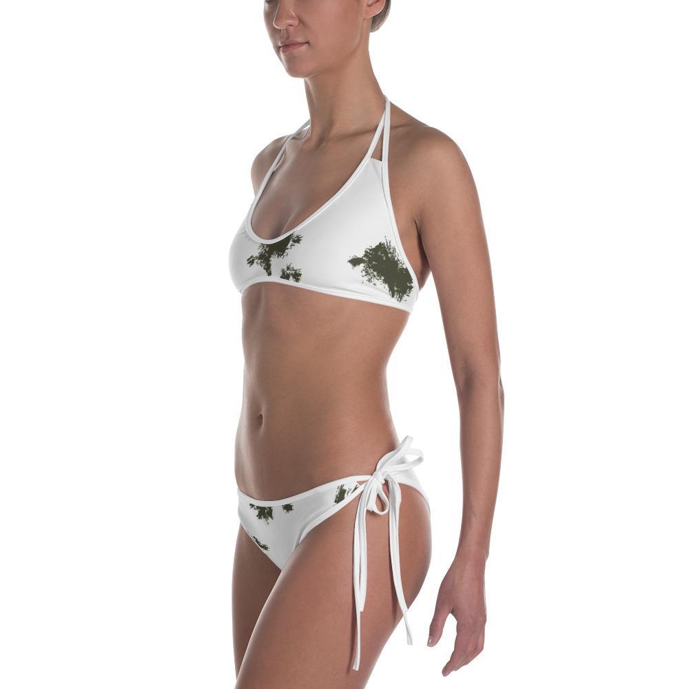 German Schneetarn Bikini