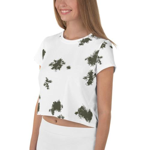German Schneetarn Crop Tee