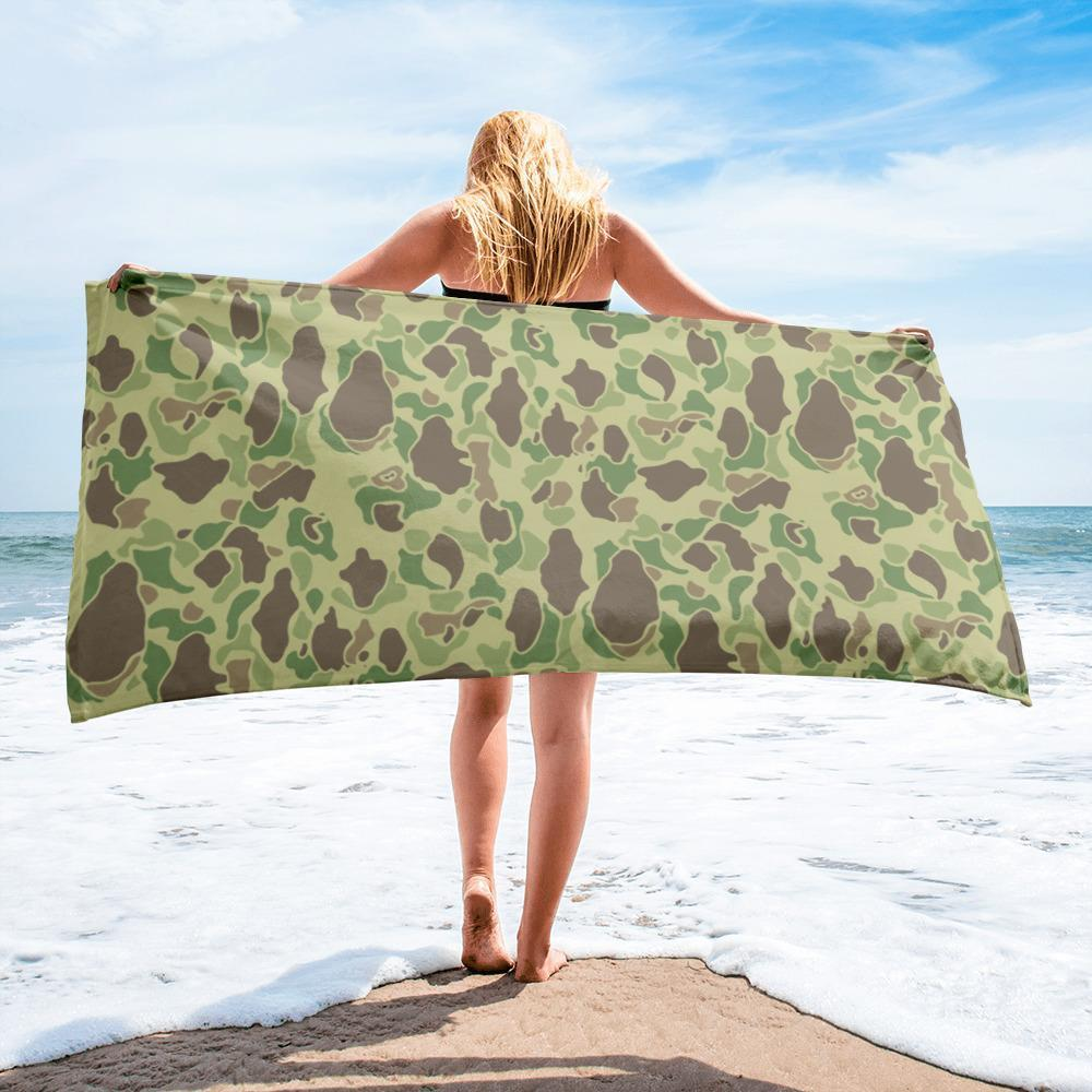US WWII Duck Hunter Summer Camouflage Towel