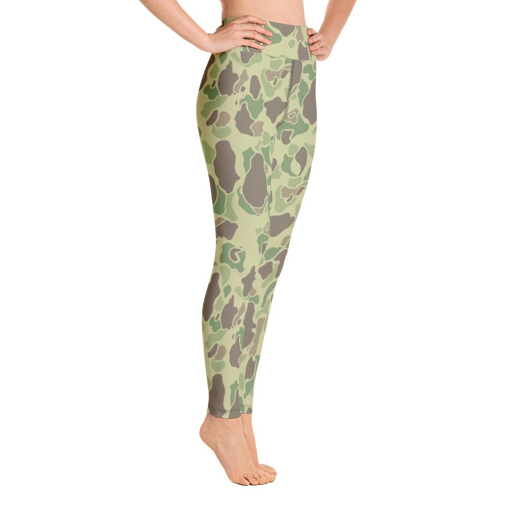 US WWII Duck Hunter summer Camouflage Yoga Leggings