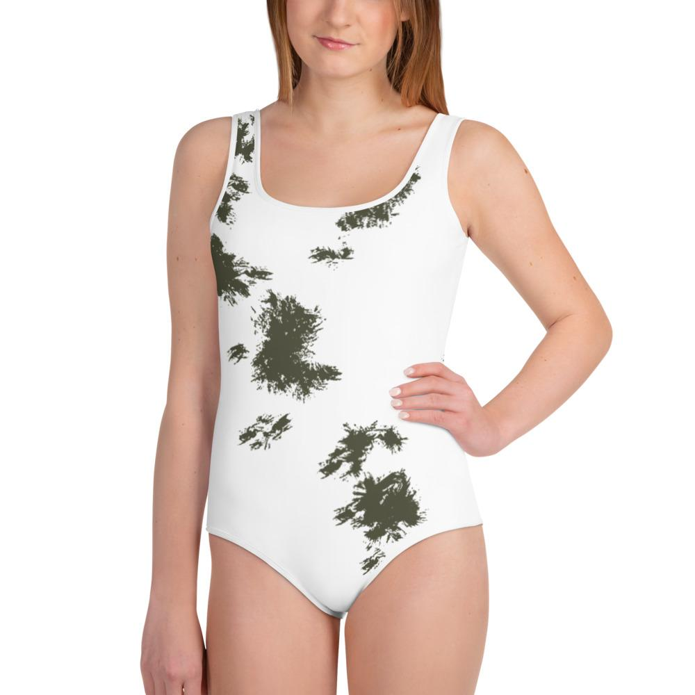 German Schneetarn Youth Swimsuit