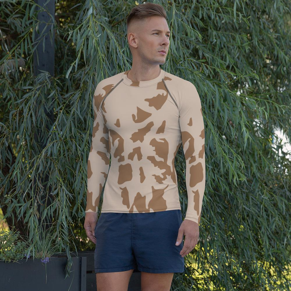 Czech Vz85 Desert Camouflage Men's Rash Guard