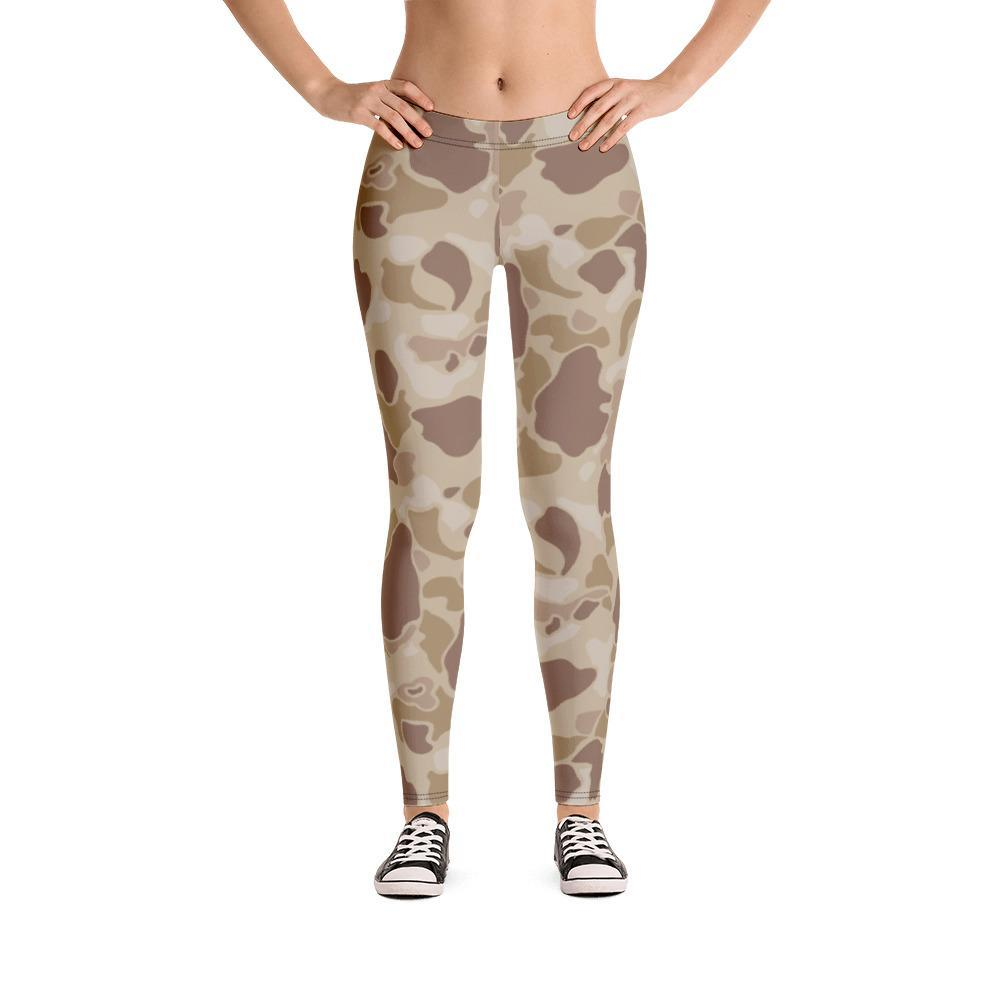 US WWII Duck Hunter Autumn Camouflage Leggings