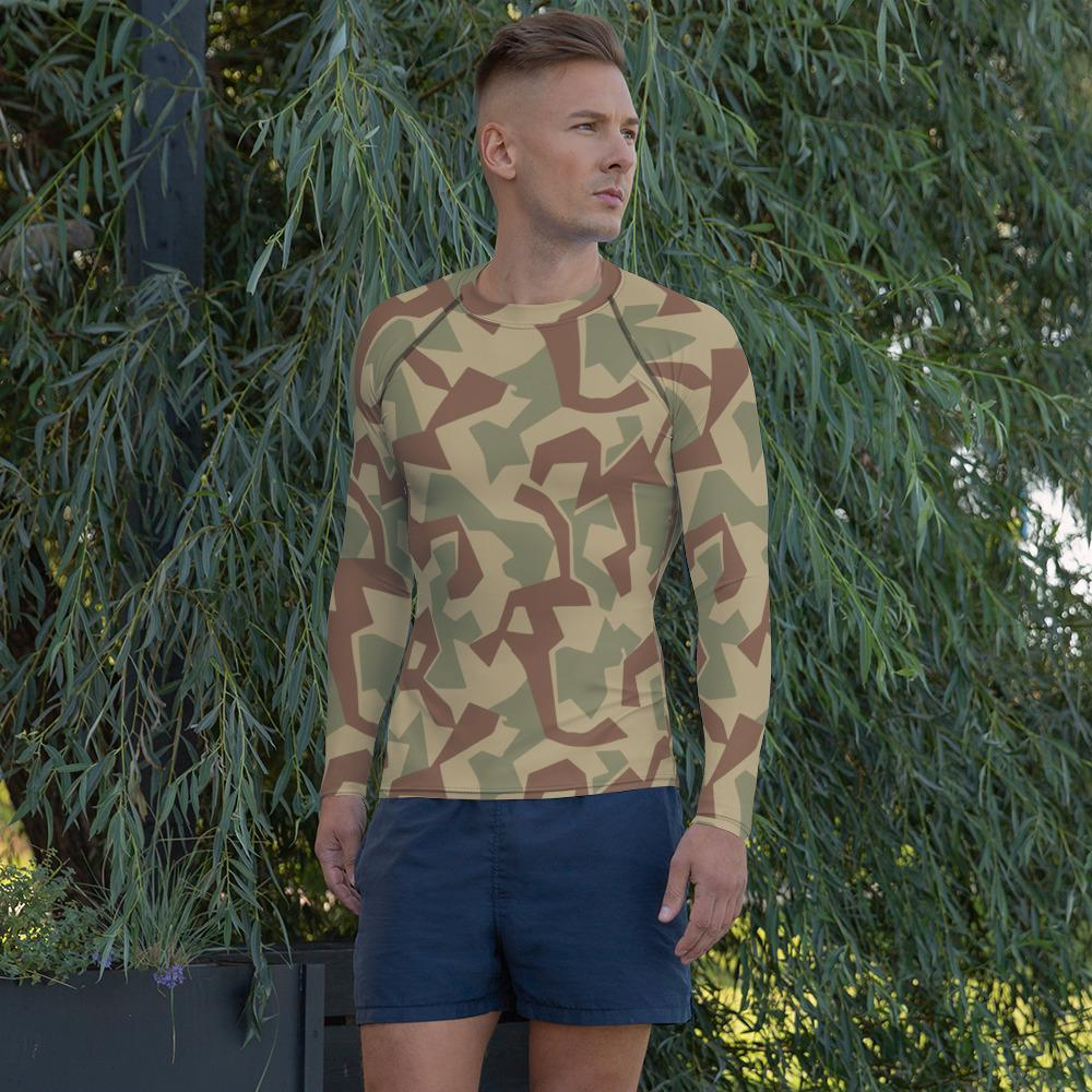 Bulgarian Splinter 46 Camouflage Men's Rash Guard