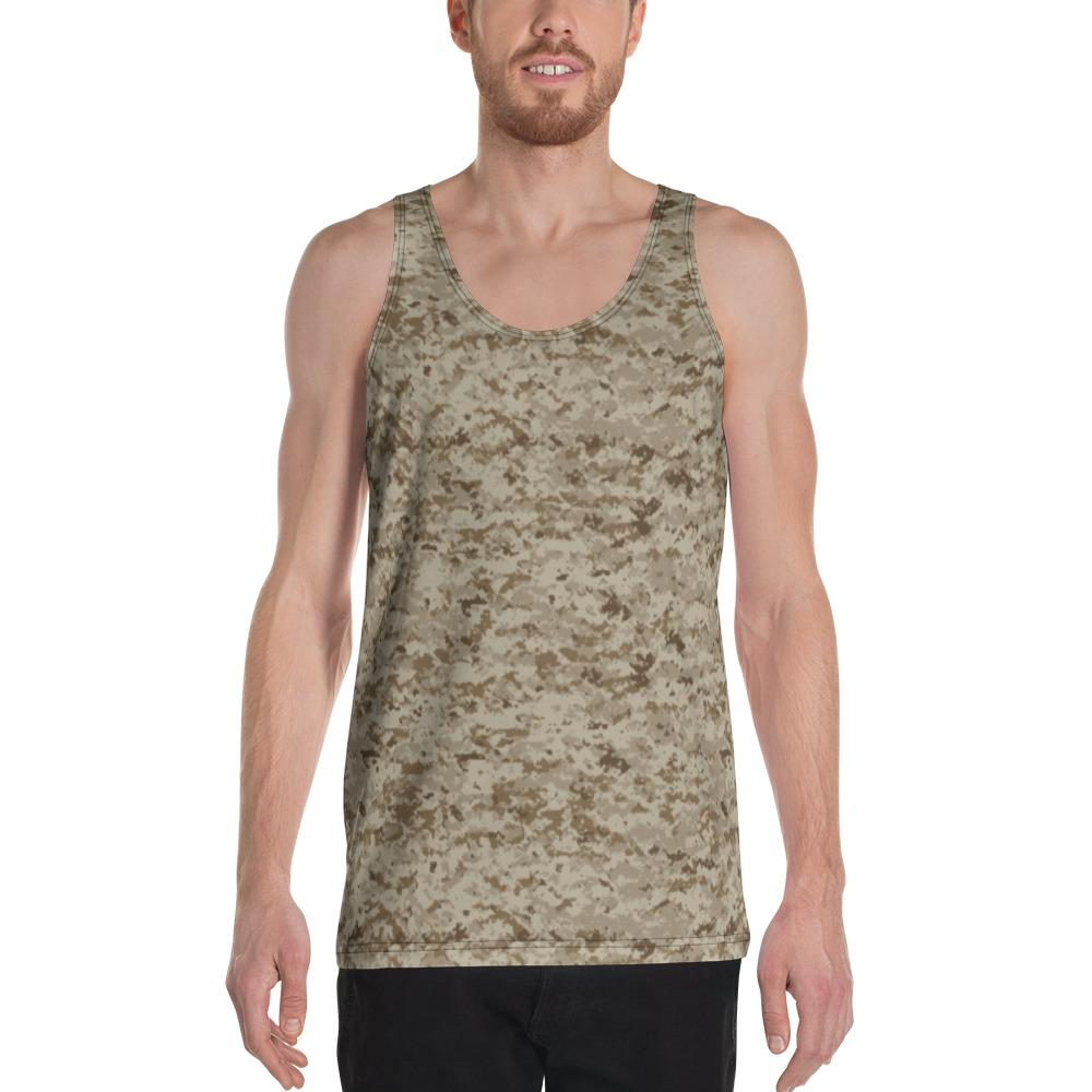 US AOR1 Camouflage Men's Tank Top