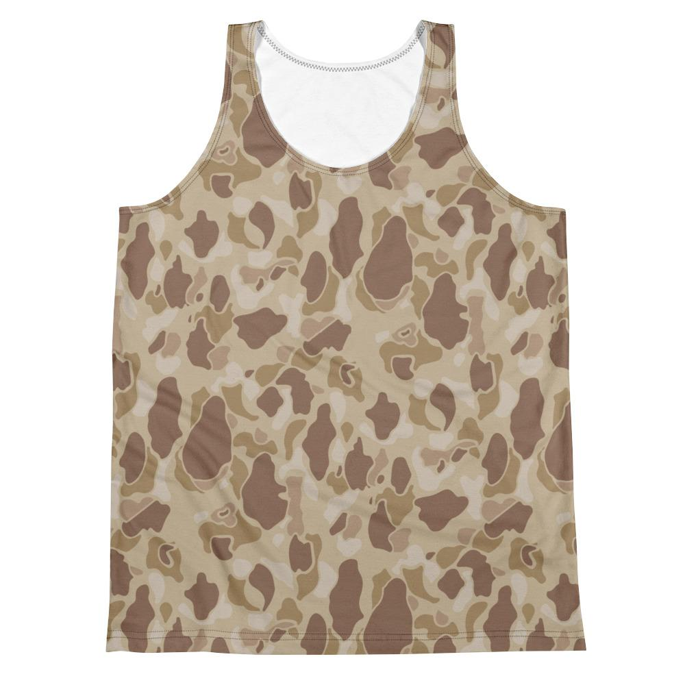 WWII US Duck Hunter Autumn Camouflage Men's Tank Top