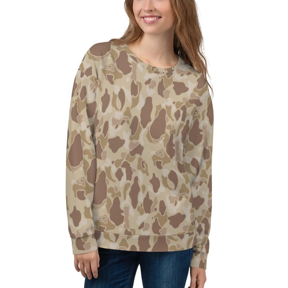 US WWII Duck Hunter Autumn Camouflage Unisex Sweatshirt