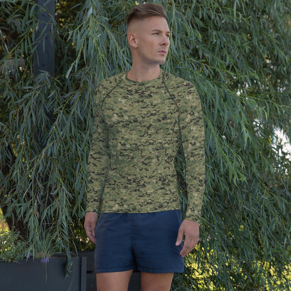 US AOR 2 Camouflage Men's Rash Guard