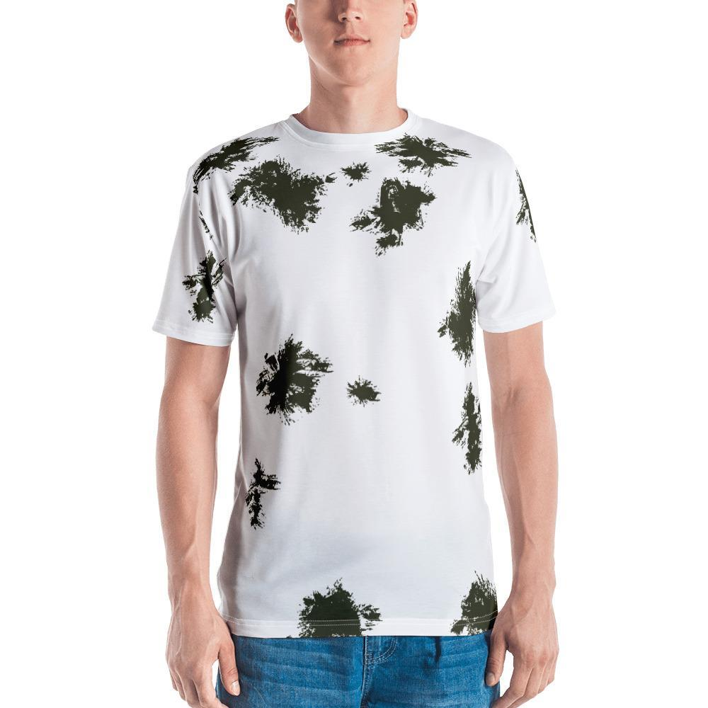 Germany Schneetarn Camouflage Men's T-shirt