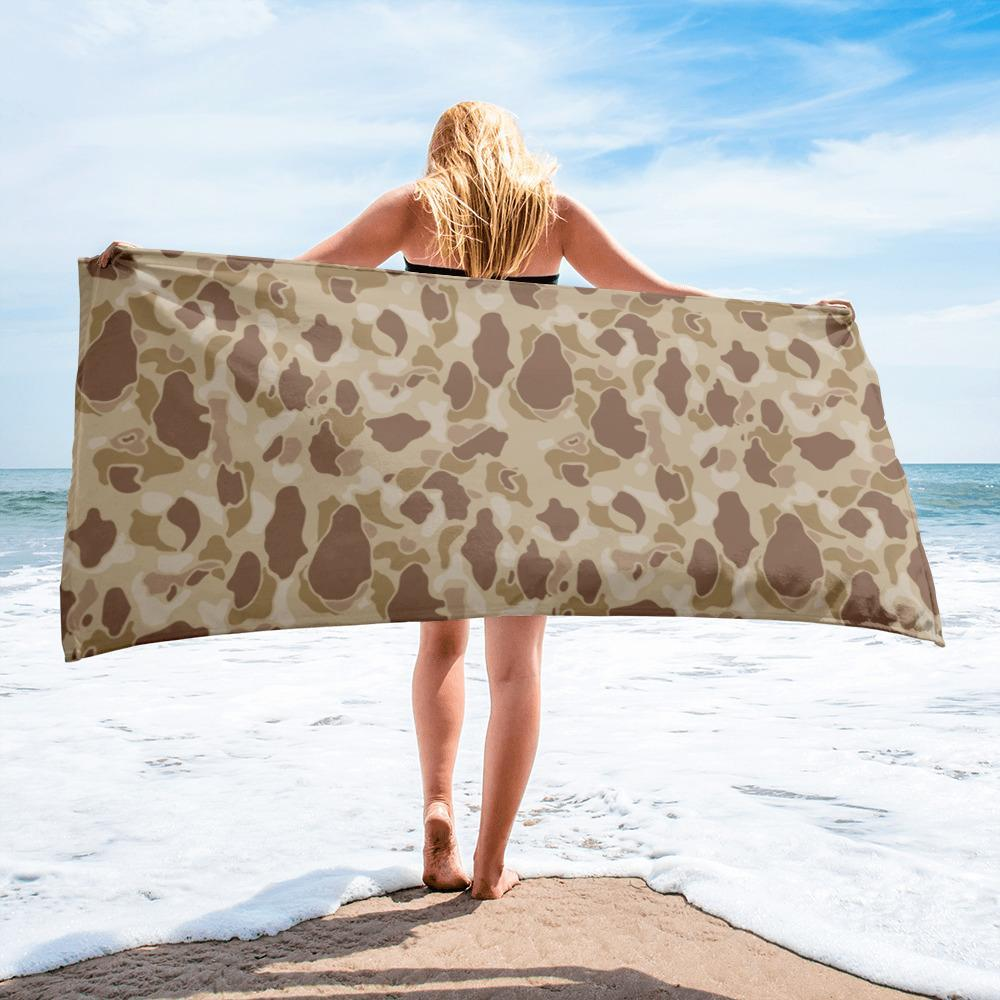 US WWII Duck Hunter Autumn Camouflage Towel