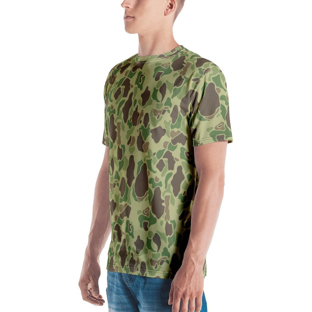 WWII USMC Duck hunter Summer Camouflage Men's Crew Neck T-Shirt
