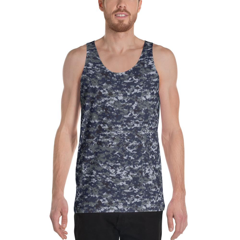 US NAVY MWUPAT Camouflage Men's Tank Top