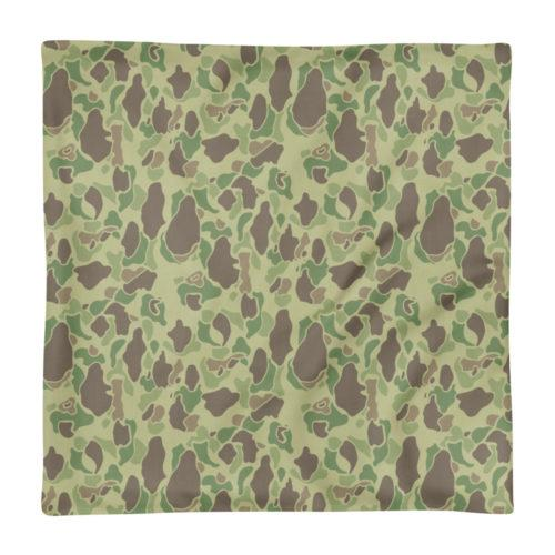 US WWII Duck Hunter Summer Camouflage Premium Pillow Case only