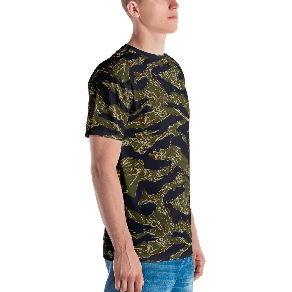 US Tiger Stripes Camouflage Crew Neck T-Shirt