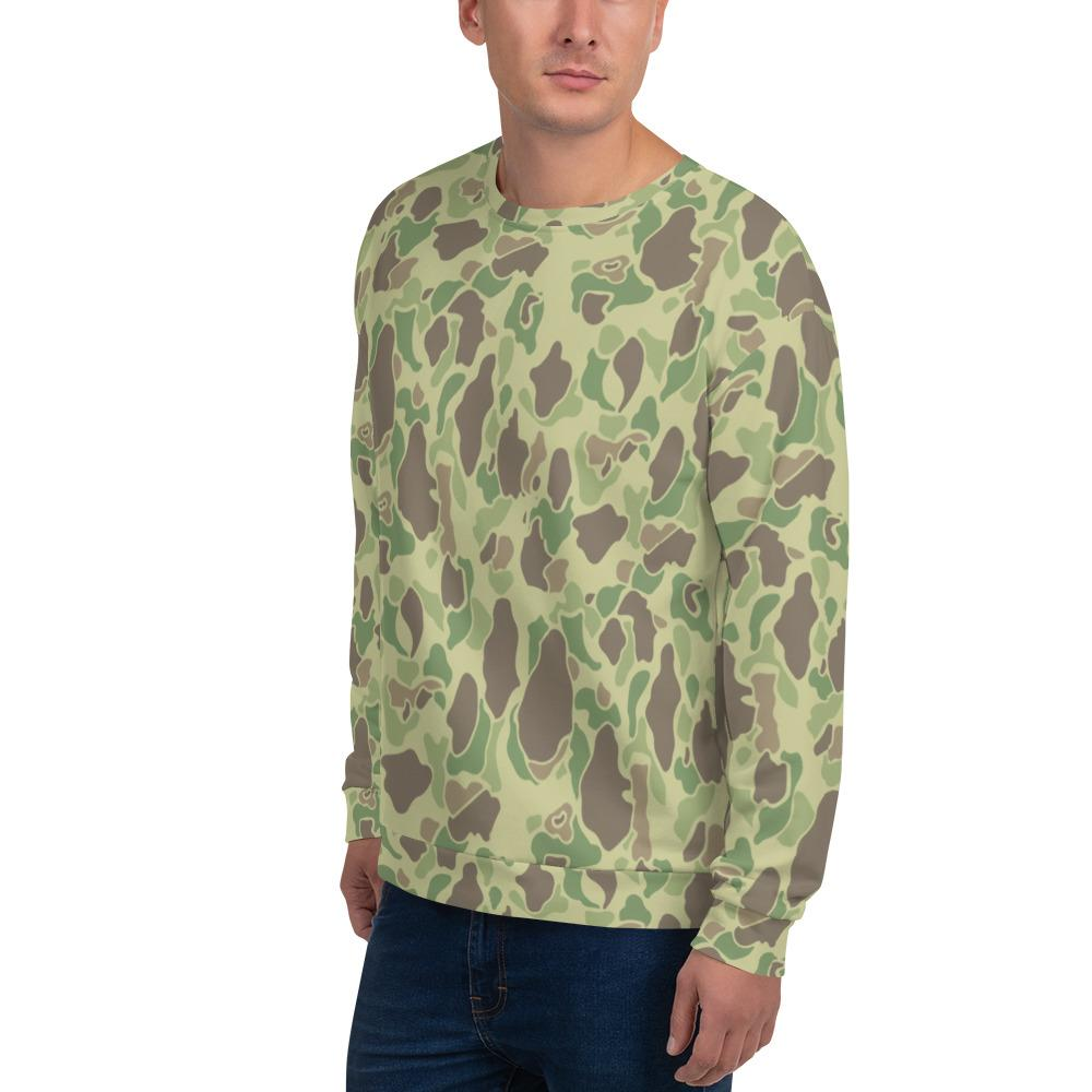 US WWII Duck Hunter Summer Camouflage Unisex Sweatshirt