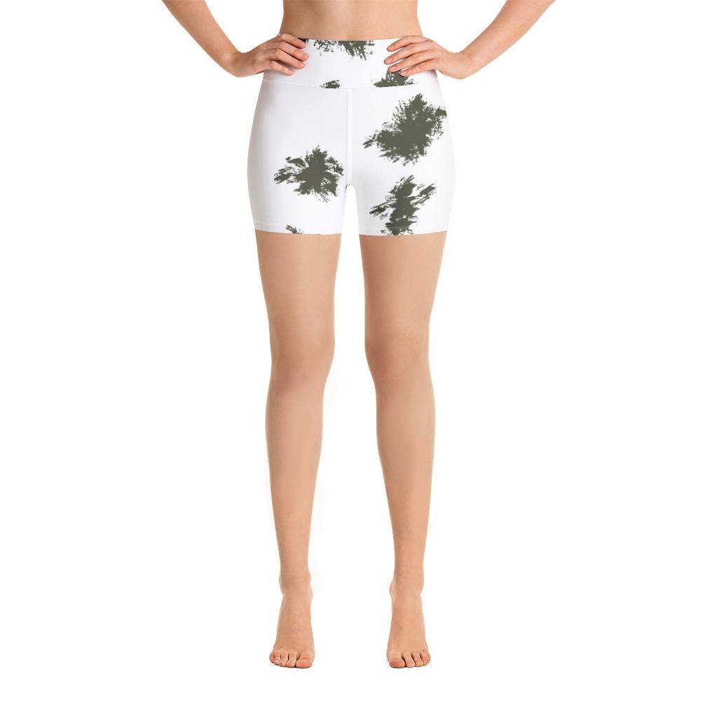 German Schneetarn Yoga Shorts
