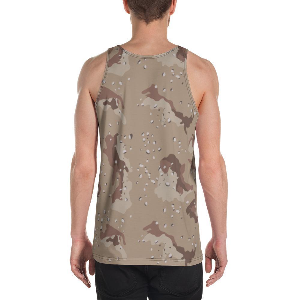 US Desert Shield / Strike Chocolate Chip Camouflage Men's Tank Top
