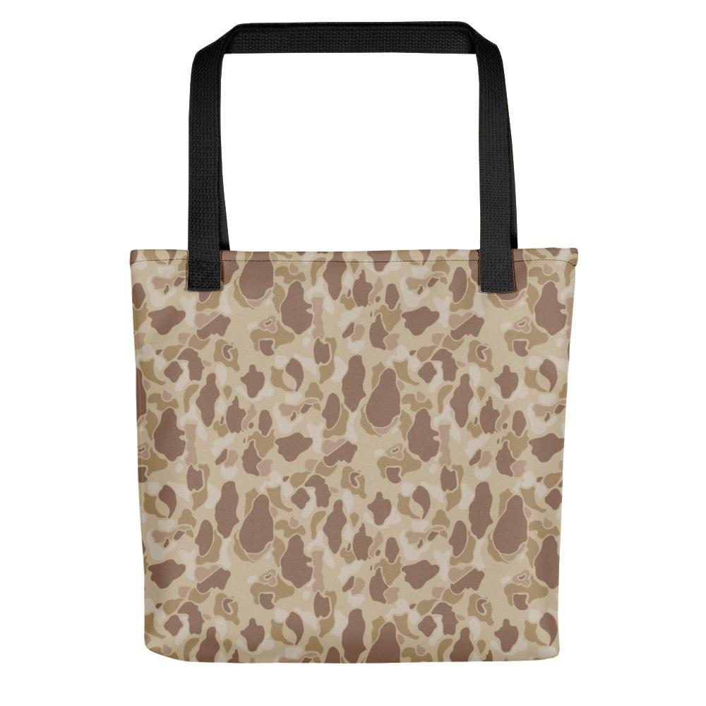 US WWII Duck Hunter Autumn Camouflage Tote Bag