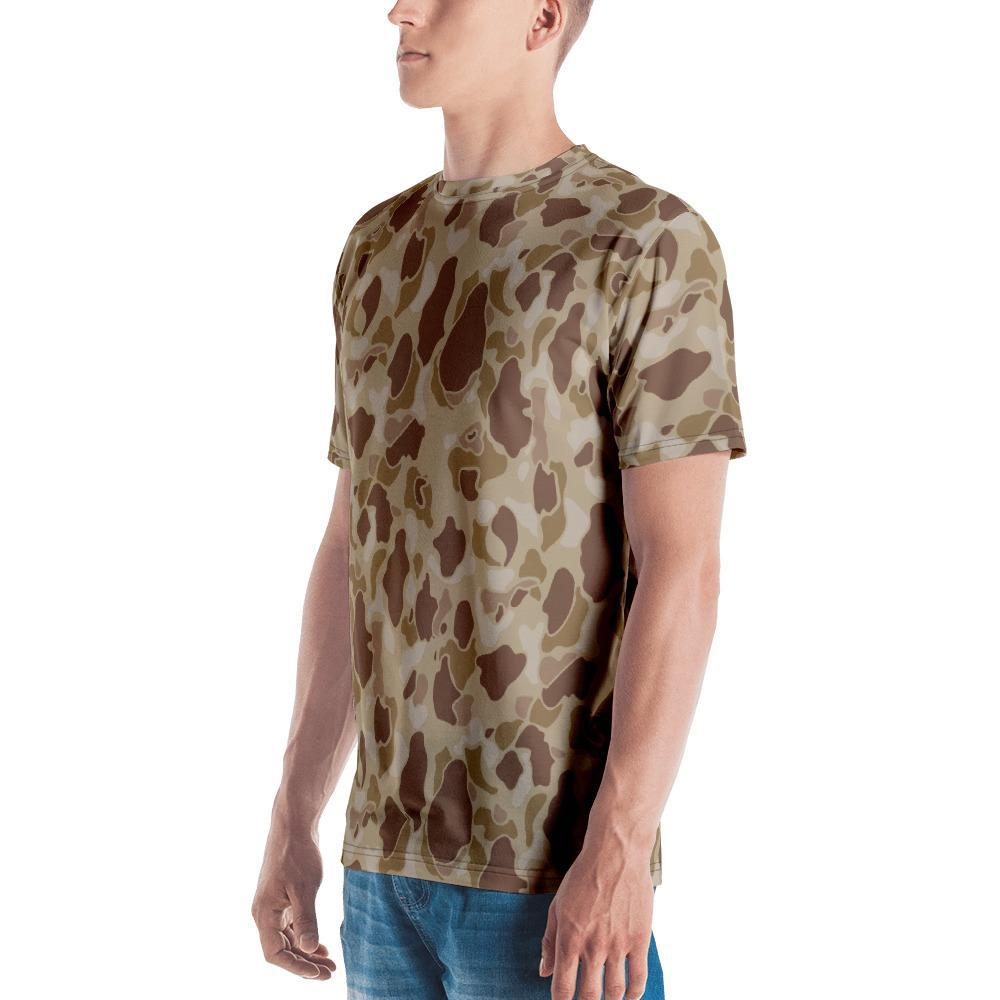 WWII USMC Duck Hunter Autumn Camouflage Men's Crew Neck T-Shirt