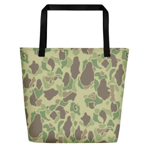 US WWII Duck Hunter Summer Camouflage Beach Bag