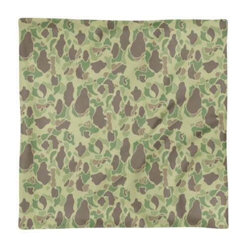 US WWII Duck Hunter Summer Camouflage Basic Pillow Case only
